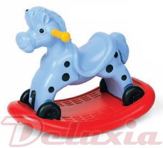 Houpací kůň jezdící kůň